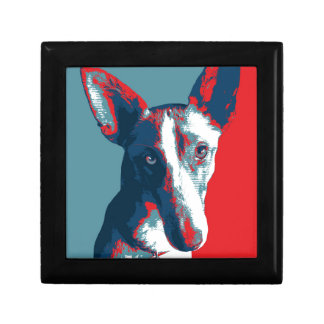 Ibizan Hound by Hope Dogs Small Square Gift Box