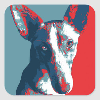 Ibizan Hound by Hope Dogs Square Sticker