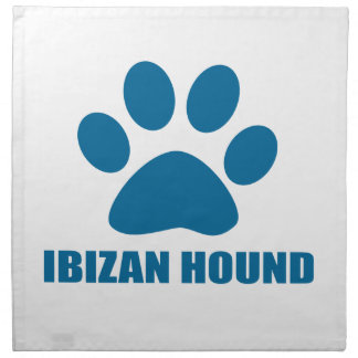 IBIZAN HOUND DOG DESIGNS NAPKIN