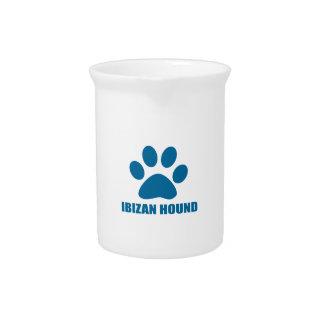 IBIZAN HOUND DOG DESIGNS PITCHER