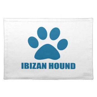 IBIZAN HOUND DOG DESIGNS PLACEMAT
