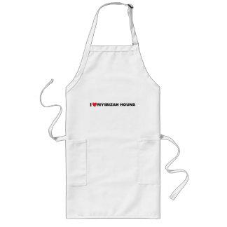 ibizan hound love long apron
