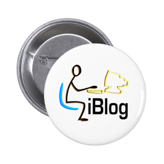iBlog T-shirts and Gifts. 6 Cm Round Badge