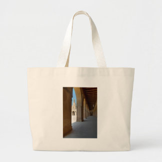Ibn Tulun Mosque Cairo Large Tote Bag