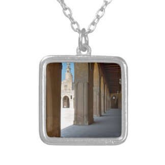 Ibn Tulun Mosque Cairo Silver Plated Necklace