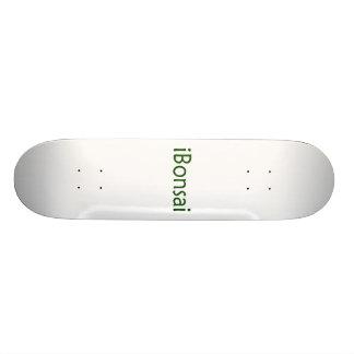 iBonsai green text bonsai design Skateboards