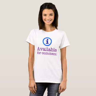 iBrattleboro Available For Comment Shirt