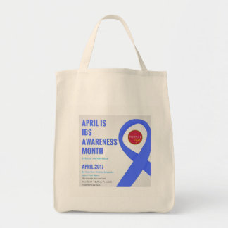 IBS Awareness Month Grocery Tote