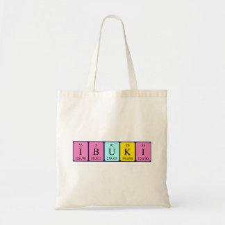 Ibuki periodic table name tote bag