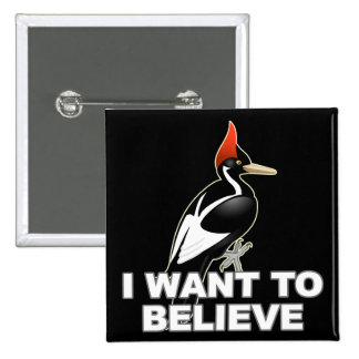 IBWO I Want To Believe Button