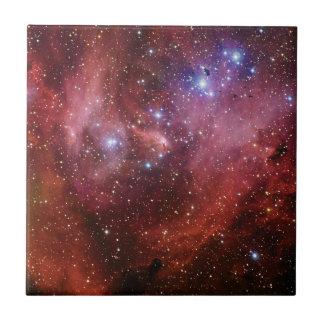 IC 2944 Running Chicken Nebula Lambda Cen Nebula Small Square Tile