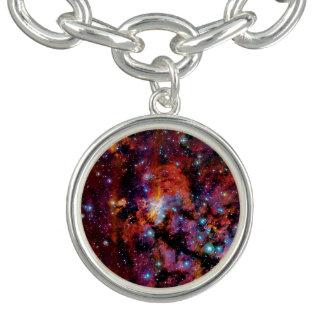 IC 4628 Prawn Nebula - Colorful Outer Space Photo