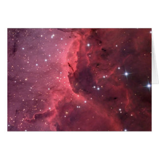 IC 5067: Emission Nebula Close-up Greeting Card