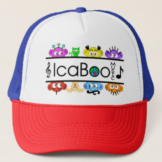 IcaBoo Music Logo baseball Hat