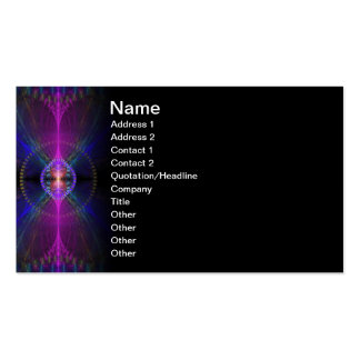 Icarus Abstract Fractal Design Business Card Template