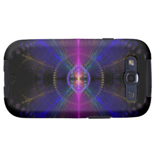 Icarus Abstract Fractal Design Galaxy SIII Cover