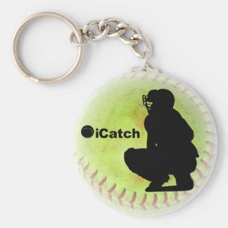 iCatch Fastpitch Softball Key Ring