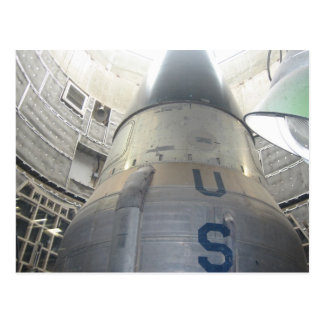 ICBM Nuclear Postcard