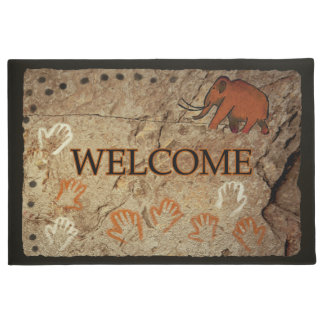 Ice Age Cave Art - Welcome Doormat