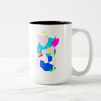 Ice Age Earth Yellow Line Continents Story Coffee Mugs