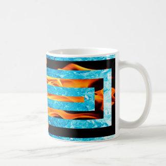 Ice and Fire Classic White Mug