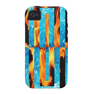 Ice and Fire iPhone 4/4S Tough Universal Case Case-Mate iPhone 4 Case