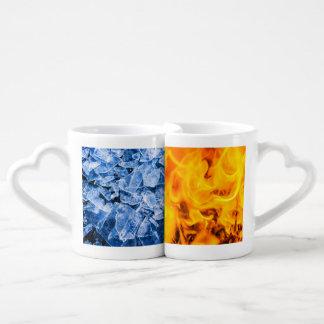 Ice And Fire Lovers Mug Set
