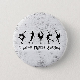 Ice Background 6 Cm Round Badge