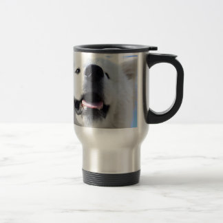 """""""Ice Bear"""" 001 Travel Mug"""