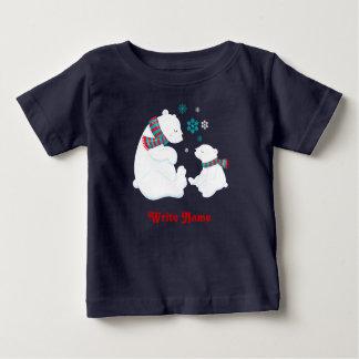 Ice Bear Winter. Baby T-Shirt
