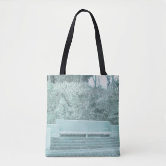 Ice Bench Tote Bag