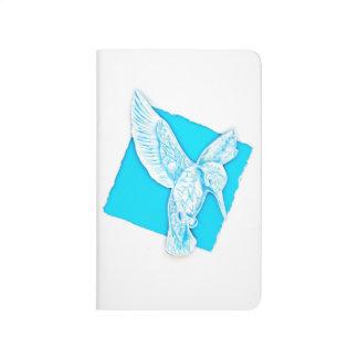 Ice Bird on notebook