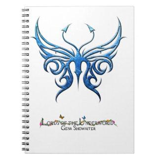 Ice blue butterfly notebook! notebook