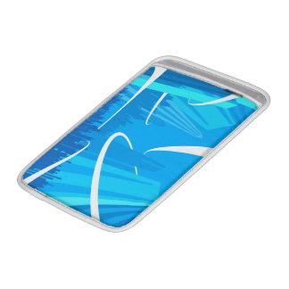 Ice Blue Macbook Air Sleeve