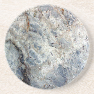 Ice blue white marble stone finish coaster