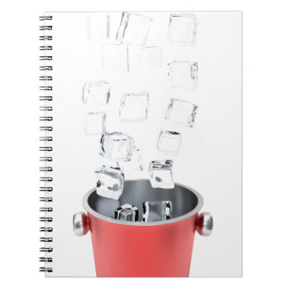 Ice bucket notebook