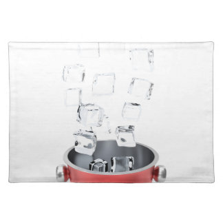 Ice bucket placemat