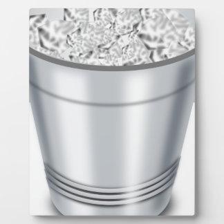 Ice Bucket Plaque