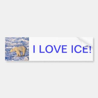ICE BUMPER STICKER