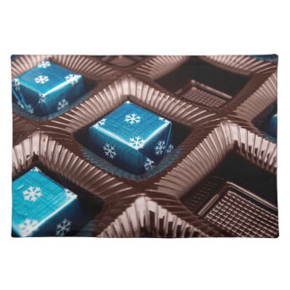 Ice candy cubes placemat