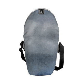 Ice capped mountains commuter bag