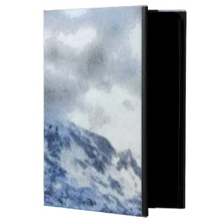 Ice capped mountains powis iPad air 2 case