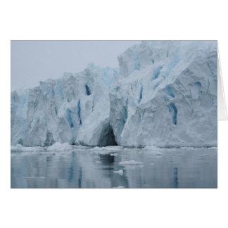 Ice cave card