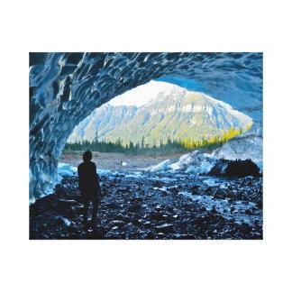 Ice Cave Wonders Canvas Prints