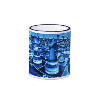 Ice Chess Ringer Coffee Mug