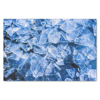 Ice cold and cool tissue paper