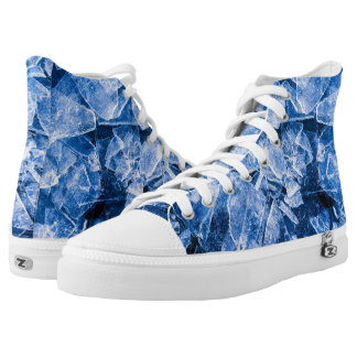 Ice cold cool printed shoes
