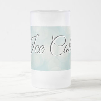 Ice Cold frosted mug for your favorite beverage