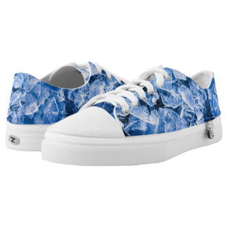Ice cold printed shoes
