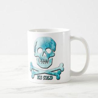 Ice Cold Skull & Crossbones Coffee Mug